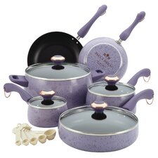Signature Porcelain 15 Piece Cookware Set