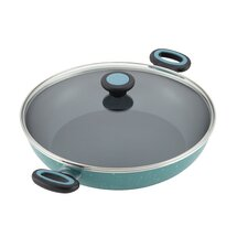"Riverbend 12.5"" Nonstick Frying Pan with Lid"