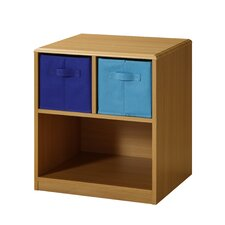 2 Drawer Nightstand in Brown