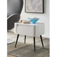 Black and White Side Table