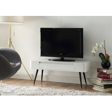 Black and White Entertainment TV Stand