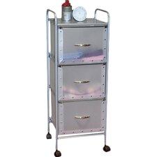 Storage and Organization 3-Drawer Storage Chest