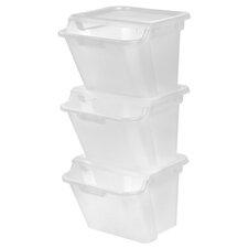 10.4-Gal Recycle Storage Bin (Set of 3)