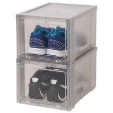 Drop Front Shoe Box (Set of 6)