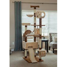 "85"" Carpeted Cat Tree"