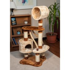 "49"" Carpeted Cat Tree"