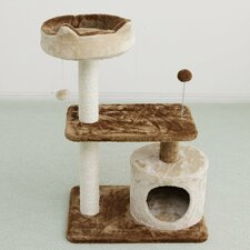 "35"" Carpeted Cat Tree"