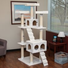 "72"" Carpeted Cat Tree"
