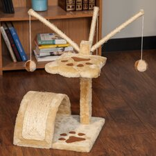 "22"" Carpeted Cat Tree"