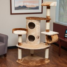 "59"" Carpeted Cat Tree"