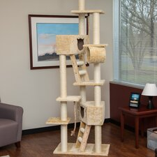 "95"" Carpeted Cat Tree"