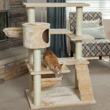 "47"" Carpeted Cat Tree"