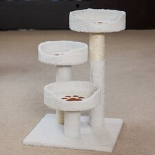 "28"" Carpeted Cat Tree"