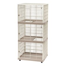 3-Tier Cat Cage with Wheels