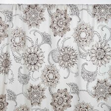Henna Tattoo Curtain Valance