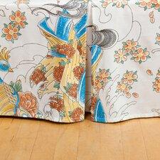 Geisha Garden Tattoo Bed Skirt
