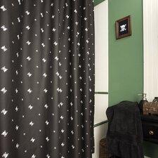 Skullstar Cotton Shower Curtain