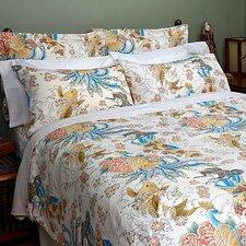 Geisha Garden Peacock Comforter