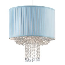 35.6cm Fabric Drum Pendant Shade