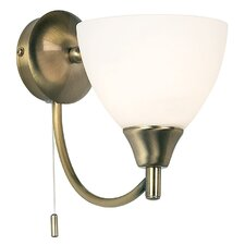 Alton 1 Light Semi-Flush Wall Light