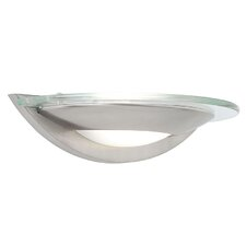 Modern 1 Light Flush Wall Light
