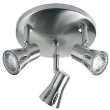 Krius 3 Light Ceiling Spotlight