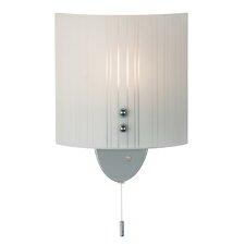 Modern 1 Light Flush Wall Light