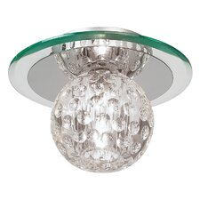 Tarota 1 Light Flush Ceiling Light