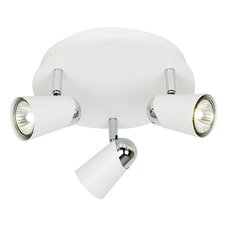 Triple Plate 3 Light Ceiling Spotlight
