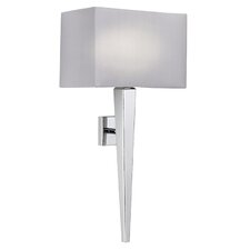 Moreto 1 Light Semi-Flush Dimmable Wall Light