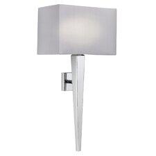 Moreto 1 Light Semi-Flush Dimmable Wall Light