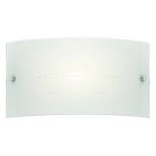 1 Light Flush Wall Light
