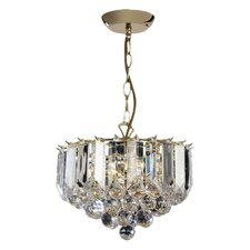 3 Light Classy Crystal Chandelier