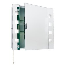 Endon 60cm x 65cm Recessed Mirror Cabinet