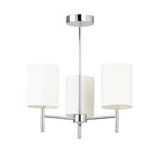Brio 3 Light Drum Chandelier