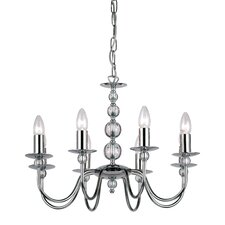8 Light Classy Candle Chandelier