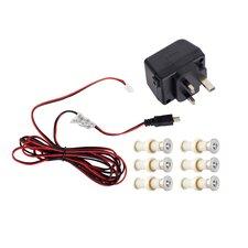 LED-Einbauleuchte 6-flammig