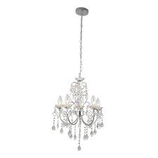 Tabitha 5 Light Crystal Pendant