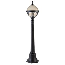 Small Round Globe 1 Light 106cm Post Lantern Set