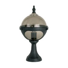Globe Pedestal 1 Light Pier Mount Light