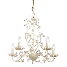 Lullaby 5 Light Crystal Chandelier