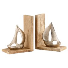 Boat Bookend (Set of 2)