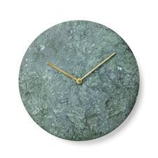 "11.81"" Marble Wall Clock"