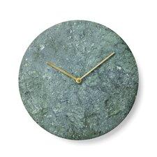 "11.81"" Marble Wall Clock"