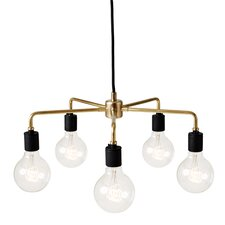 Tribeca Leonard 5 Light Mini Chandelier