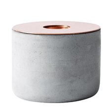 Chunk Concrete & Copper Votive