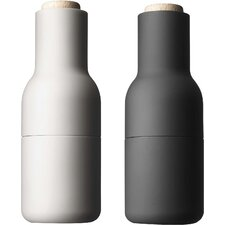 Small Bottle Salt & Pepper Grinder (Set of 2)