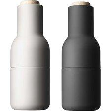 Small Bottle Salt & Pepper Grinder (Set of 2)