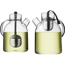 Norm 2 Qt. Glass Tea Kettle