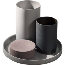 4 Piece Cylinder Set and Tray
